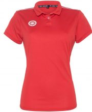 The Indian Maharadja Girls Tech Polo Shirt IM – Red