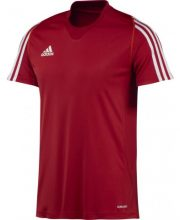 Adidas T12 Team SS Tee Men Red | Discount Deal