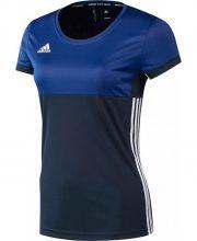 adidas T16 Climacool Shortsleeve T-shirt Dames navy/royal