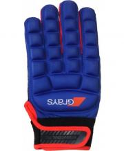 Grays International Pro Glove Neon Blue/Fluo Red Links