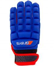 Grays International Pro Glove Links Blauw/Fluor Rood