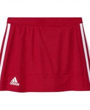 adidas T16 Skort Girls rood/wit
