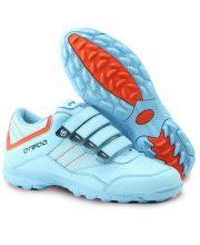 Brabo velcro shoe Lightblue/Orange