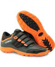Brabo velcro shoe Black/Orange
