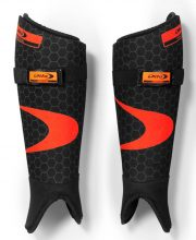Dita Shinguard Ortho Plus '17 Black Collection Fluo Rood/Zwart