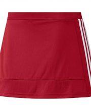 adidas T16 Skort Dames rood/wit
