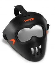 Dita Face Mask '17 Black Collection Fluo Rood/Zwart