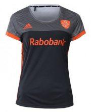 adidas KNHB Grijs/Oranje Uit Shirt Dames