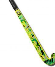The Indian Maharadja Yuki Jungle Yellow junior hockeystick 33 inch